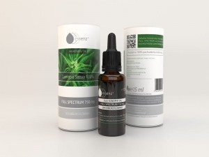 Essenz Dekarboksylowany Full Spectrum 750mg - ekstrakt CBD 5%, 15 ml