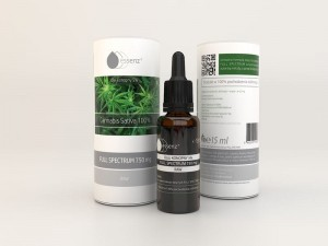Essenz RAW Cannabis Sativa 100% - ekstrakt CBD 5%, 15 ml