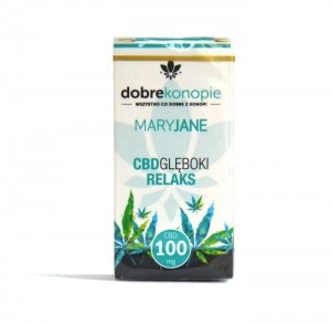 E-liquid CBD MaryJane CBD Głęboki Relaks 100mg, 10ml