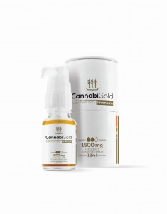 CannabiGold Premium 1500mg - Olej CBD 15%, 12ml